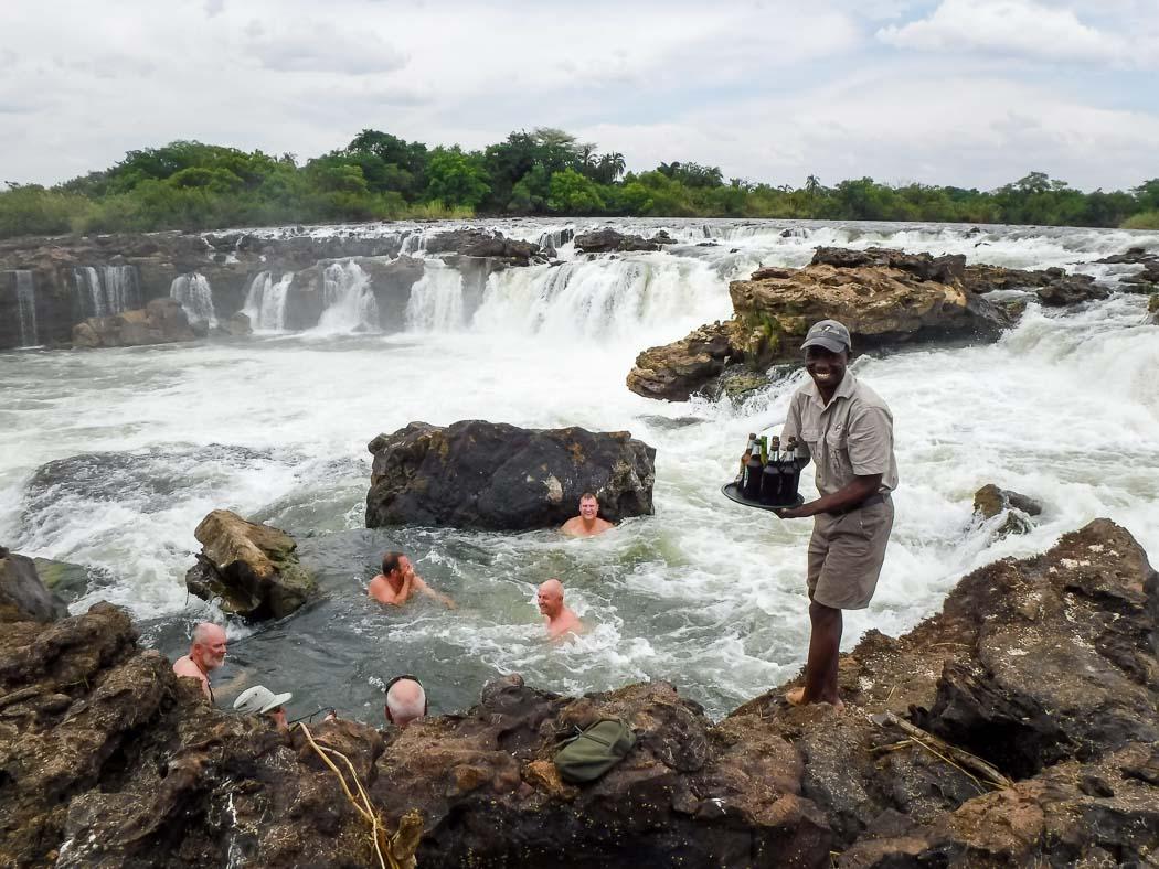 Zambezi River Tiger Fishing Safaris - Waterfall